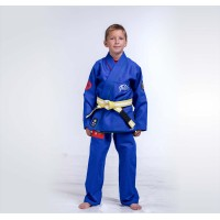 Twister Blue BJJ Gi For Kids